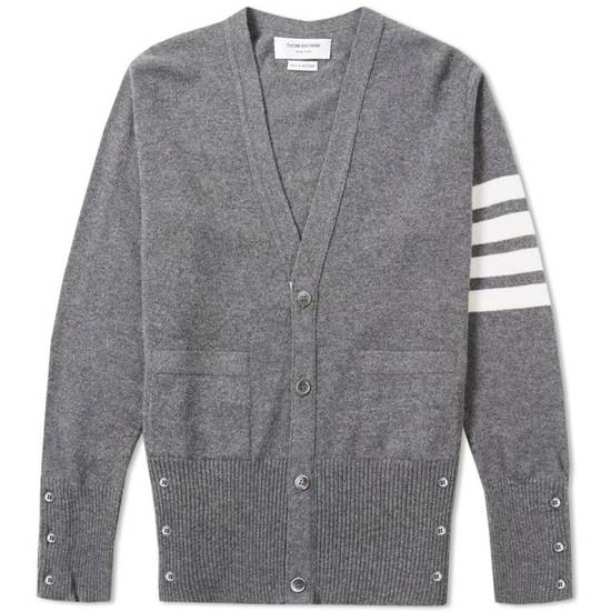 Thom Browne * FINAL DROP * Classic 4 Bar Cashmere Cardigan Size US S / EU 44-46 / 1 - 11