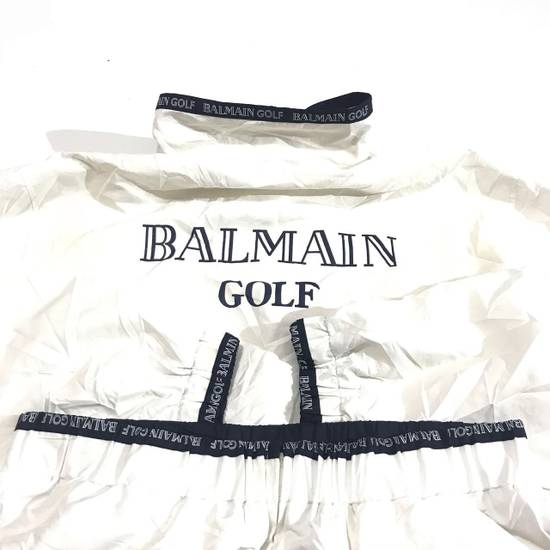 Balmain Vtg Balmain Spell Out Huge Light Jacket Not Dior Gucci Hermes Louis Vuitton Fendi Hermes Prada Size US L / EU 52-54 / 3