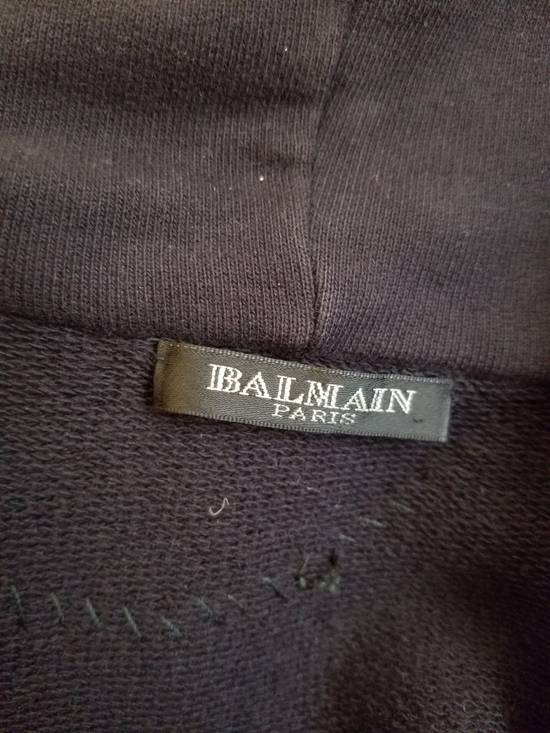 Balmain RARE Balmain Paris cotton zip hoodie NEGOTIABLE Size US XL / EU 56 / 4 - 9
