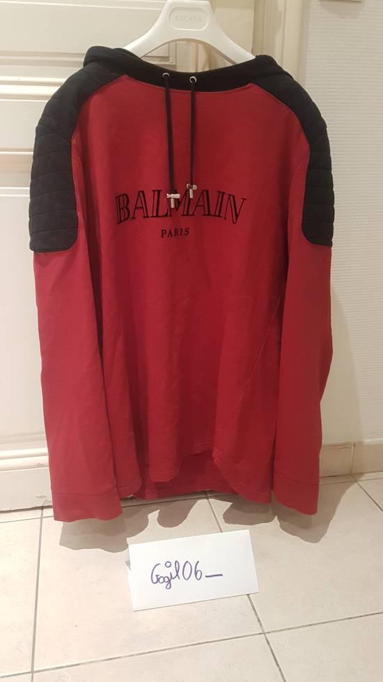 Balmain BALMAIN BIKER HOODIE FROM FW16 Size US XL / EU 56 / 4