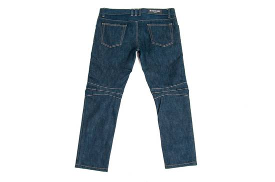 Balmain Denim Bikers Size US 33 - 4