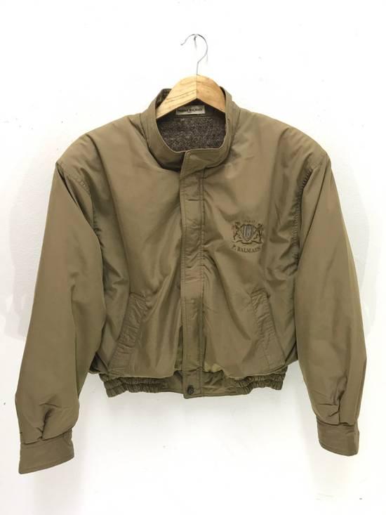 Balmain Pierre Balmain Paris Cropped Jacket With Wool Lining Made in Japan Size US M / EU 48-50 / 2