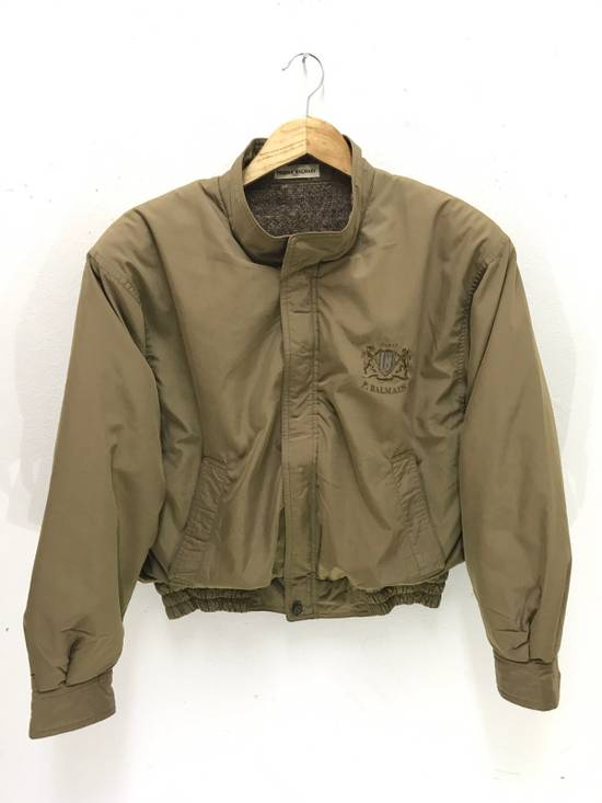 Balmain Pierre Balmain Paris 90s Cropped Jacket With Wool Lining Made in Japan Size US M / EU 48-50 / 2