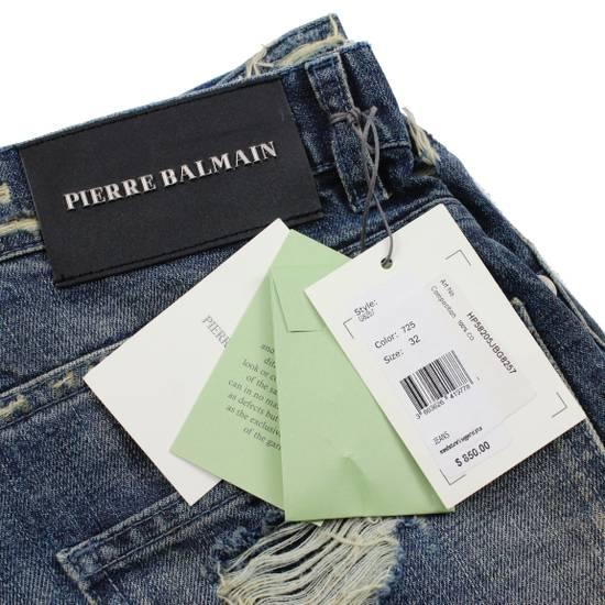 Balmain Pierre Balmain Distressed Moto Biker Jeans Size 32 Made in Italy Size US 32 / EU 48 - 8