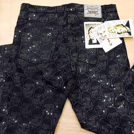 Levi's Vintage Clothing Levis x Damien Hirst x the Andy Warhol x Swarovski crystal Jeans Size US 34 / EU 50
