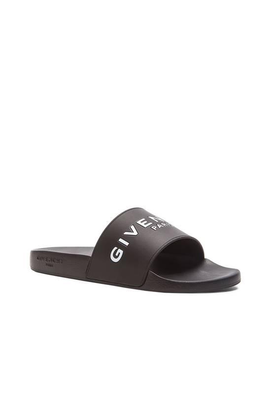 Givenchy Givenchy Logo Slide Sandals Black Size US 7 / EU 40 - 1