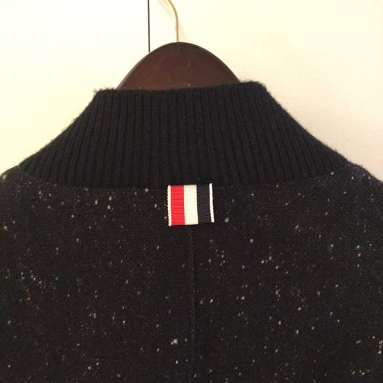 Thom Browne Calf Leather sleeve Wool bomber Size US L / EU 52-54 / 3 - 2