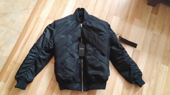 Givenchy Givenchy Black Banded Rottweiler Nylon Shell Bomber Jacket 2014 size 48 (M) Size US M / EU 48-50 / 2 - 10