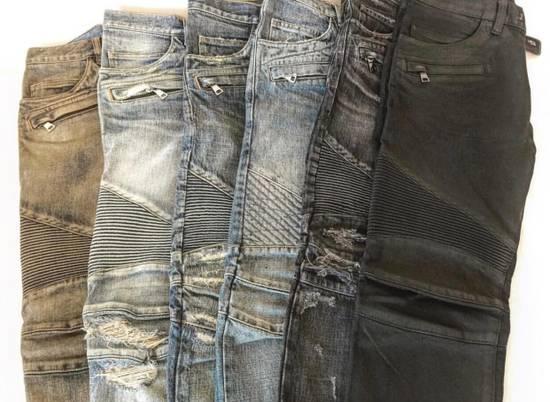 Balmain Balmain Classic Biker Jeans Size US 30 / EU 46 - 1