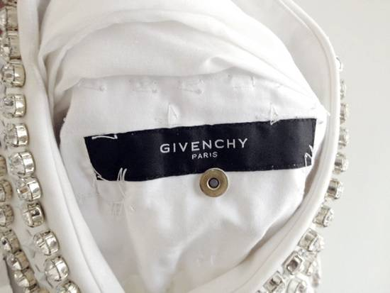 Givenchy GIVENCHY 2012 F/W STAR STUDS & CRYSTAL BEADS WHITE SHIRT Size US M / EU 48-50 / 2 - 9