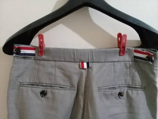 Thom Browne THOM BROWNE CLASSIC GRAY TROUSER Size 46R - 2