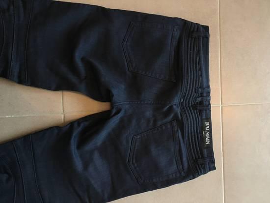 Balmain Balmain Denim Blue Biker Size US 30 / EU 46 - 6
