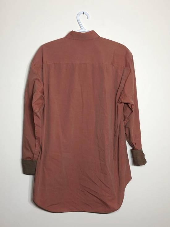Balmain Red Chambray Long Sleeve button down Size US M / EU 48-50 / 2 - 2