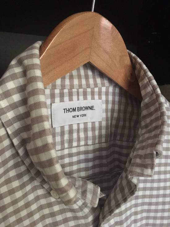Thom Browne Gingham Oxford Cloth Button Down Size US M / EU 48-50 / 2 - 4