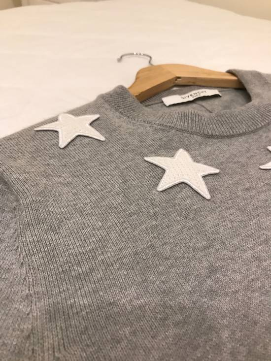 Givenchy Collar Star Embroidered Sweatshirt Size US M / EU 48-50 / 2 - 1