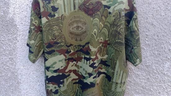 Givenchy $835 Givenchy Camouflage Eye Rottweiler Madonna Oversized T-Shirt size S (L / XL) Size US L / EU 52-54 / 3 - 10