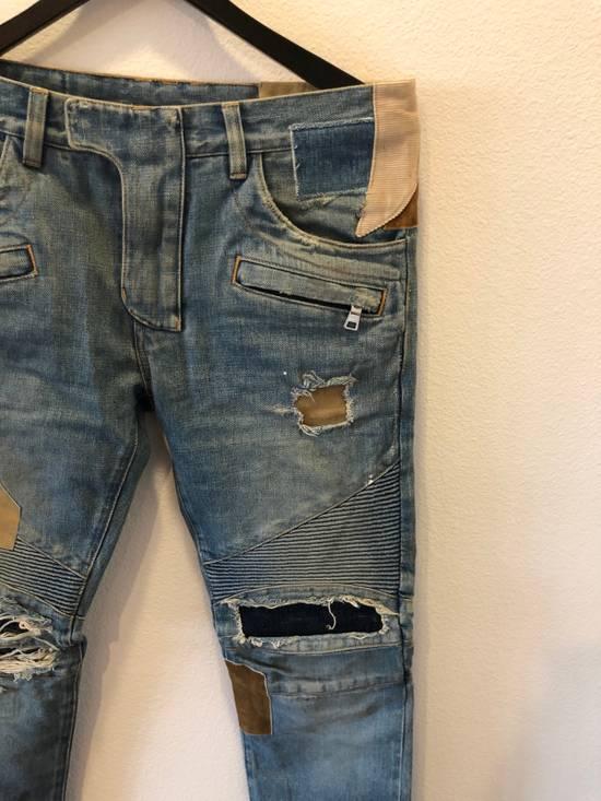 Balmain Patchwork Jeans Size US 30 / EU 46 - 2