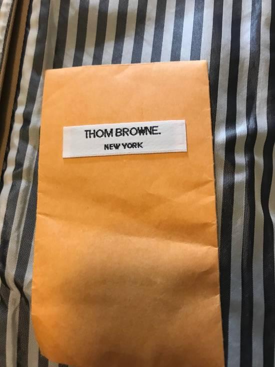 Thom Browne Thom Browne Tan Macintosh Overcoat - Size 00 Size US XXS / EU 40 - 5
