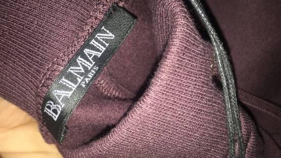 Balmain Balmain Authentic $930 Bordeaux Sweatpants Jogger Size L Brand New Size US 34 / EU 50 - 3