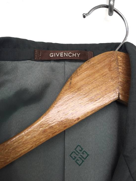 Givenchy 80s Green Wool Double Breast Blazer Coat Size 38S - 5