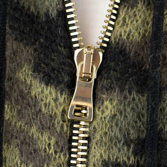 Balmain Camouflage Wool Blend Zip Up Hoodie Size M Size US M / EU 48-50 / 2 - 6