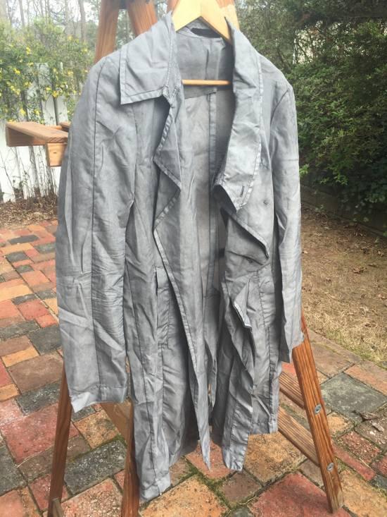 Julius SS14 Silk/Nylon Dusty Grey Coat Size US M / EU 48-50 / 2