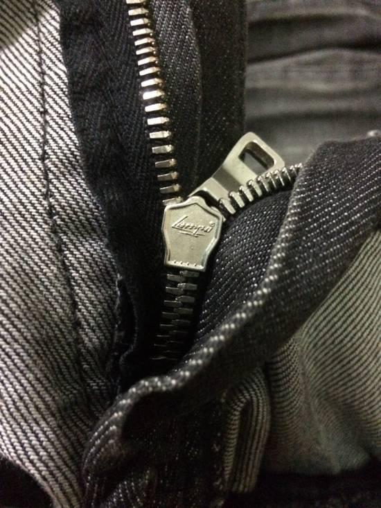 "Balmain FW11 Decarnin Grey ""Biker"" Jeans. Size US 29 - 3"