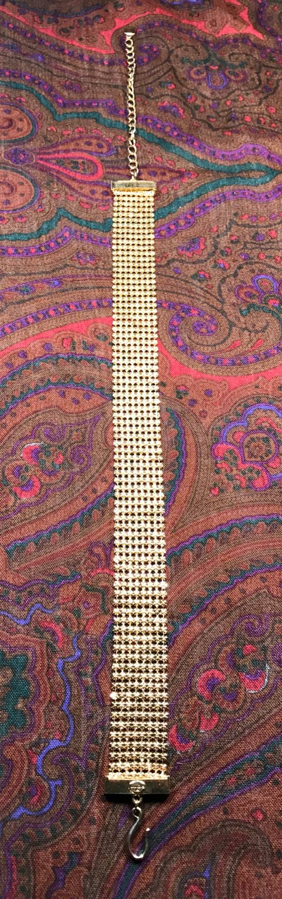 Givenchy Gold Choker Necklace Size ONE SIZE