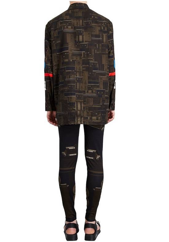 Givenchy Givenchy Dark Circuit 17 Deck Tape Rottweiler Shark Oversized Shirt size 40 (L) Size US L / EU 52-54 / 3 - 3