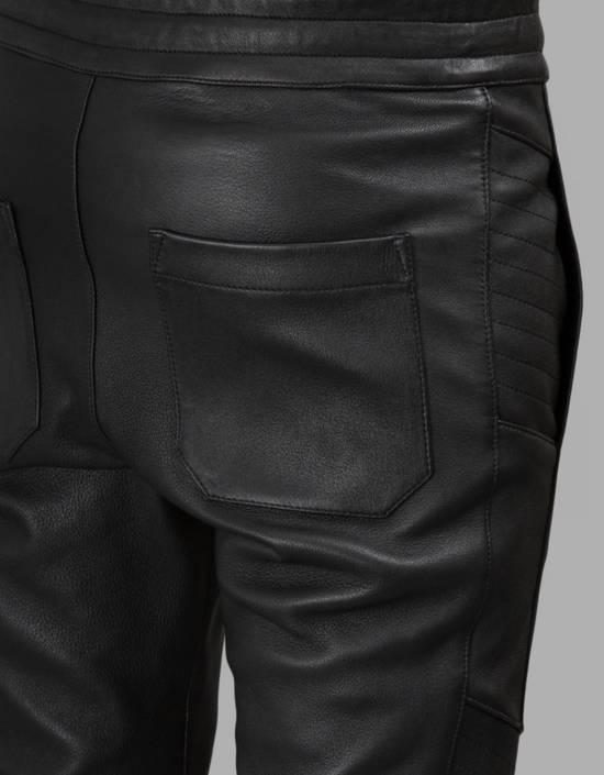 Balmain Leather Black Training Biker Size US 30 / EU 46 - 6