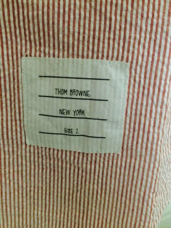 Thom Browne seersucker shirt size 2 Size US M / EU 48-50 / 2 - 2