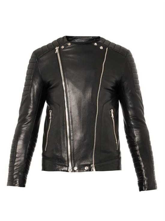 Balmain Classic Leather Biker Size US M / EU 48-50 / 2 - 1