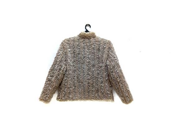Balmain 🔥FINALDROP♨Reversible Balmain Paris Fur and Silk Jacket RARE Design Size US L / EU 52-54 / 3 - 1