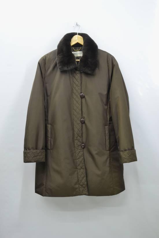 Balmain BALMAIN Jacket Pierre Balmain Jacket Vintage Balmain Paris Fur Lining Collar Button Jacket Size M-L Size US L / EU 52-54 / 3