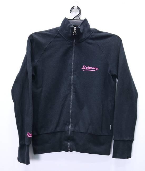 Balmain Vintage Balmain Paris Sweatshirts Zip Up Black Color Small Logo Spellout size 38 Size US S / EU 44-46 / 1
