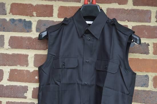 Givenchy Silk Blend Military Sleeveless Shirt Size US S / EU 44-46 / 1 - 1