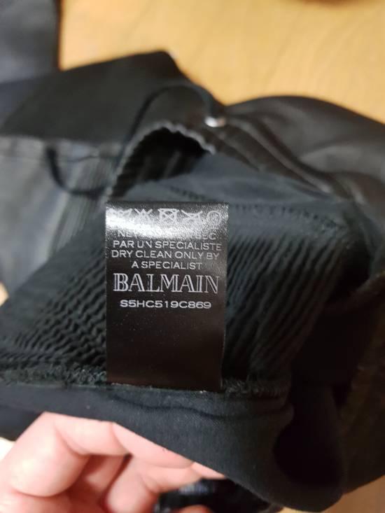 Balmain 14ss Nappa Leather Joggers Pants Size US 30 / EU 46 - 4