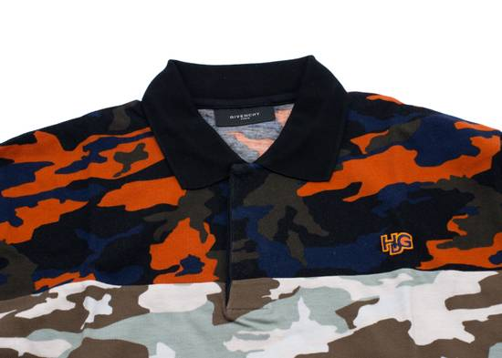 Givenchy Givenchy Men's Two Tone Multi Color Camouflage Polo Shirt Size US L / EU 52-54 / 3 - 1