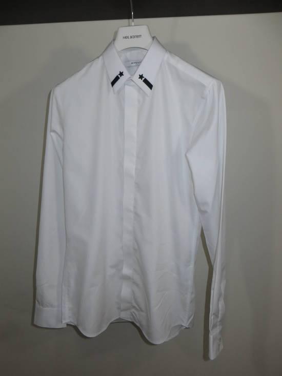 Givenchy Embroidered stars collar shirt Size US XL / EU 56 / 4