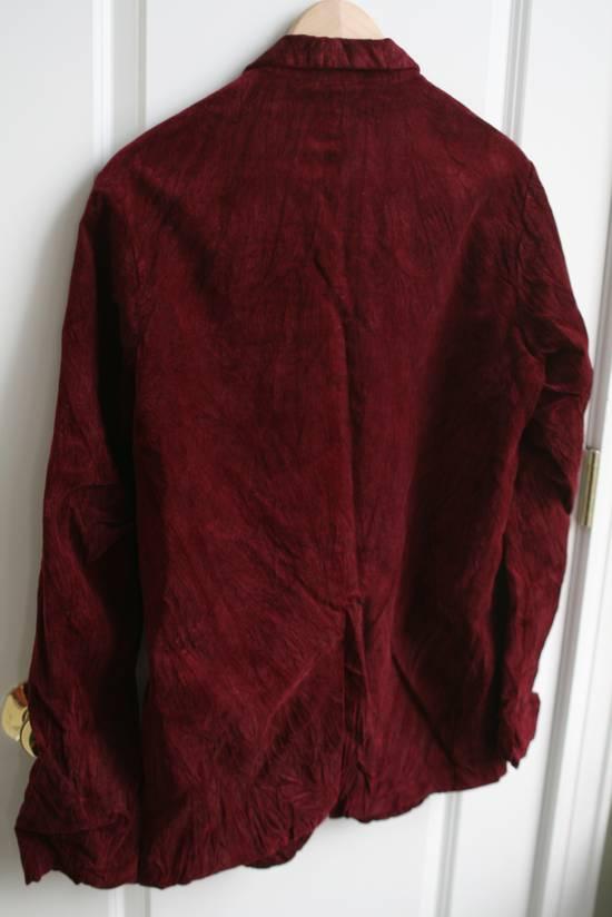 Julius AW03 Blood Red Velvet Blazer Size US M / EU 48-50 / 2 - 4