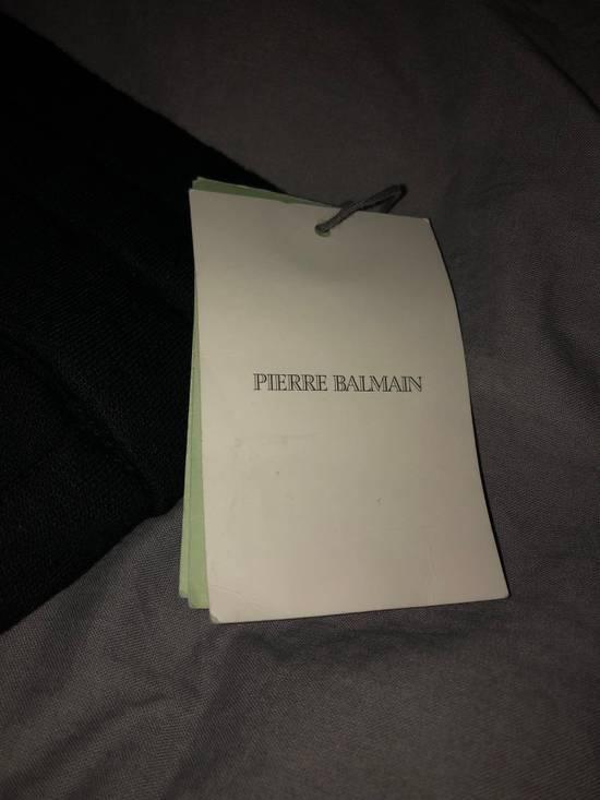 Balmain PIERRE BALMAIN Sweatpants biker black size 50 Size US 34 / EU 50 - 4