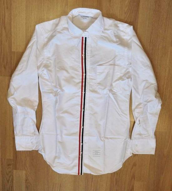 Thom Browne Thom Browne White Oxford Classic Shirt Size US XS / EU 42 / 0 - 1