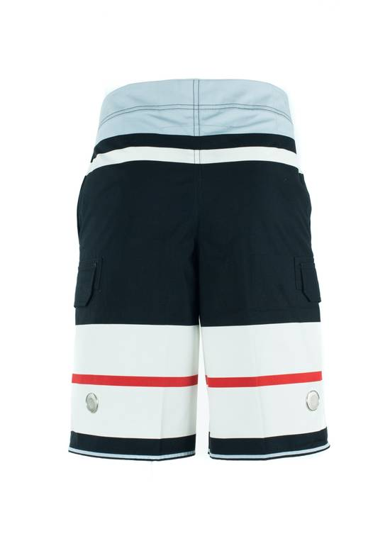 Givenchy Givenchy Men's Cotton Multi Color Striped Board Shorts Size US 34 / EU 50 - 2