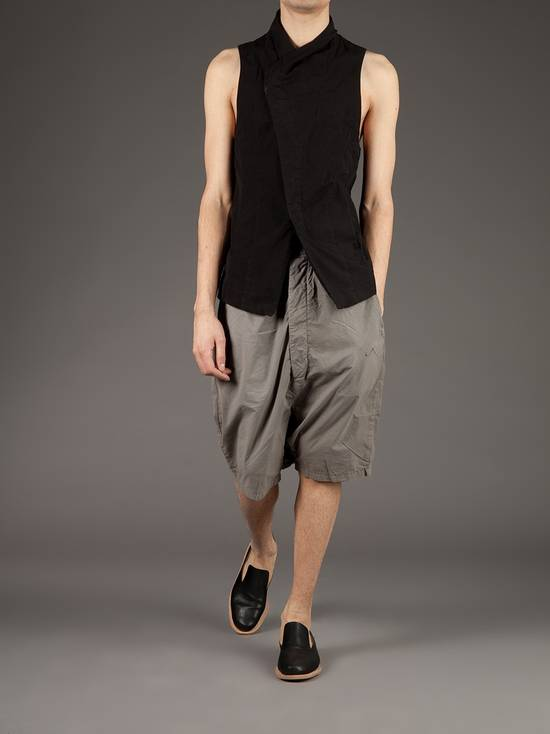 Julius Black Poplin Vest ss13 Size US M / EU 48-50 / 2 - 5