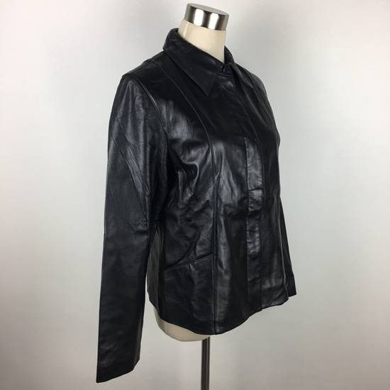 Balmain Mens BALMAIN Paris Leather PVC Jacket Coat Luxury Designer Size US M / EU 48-50 / 2 - 4