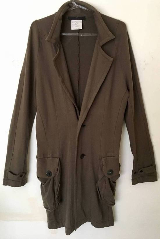 Julius Japan made long jersey oversize Popper fastening Gasmask pocket jacket Size US S / EU 44-46 / 1 - 1