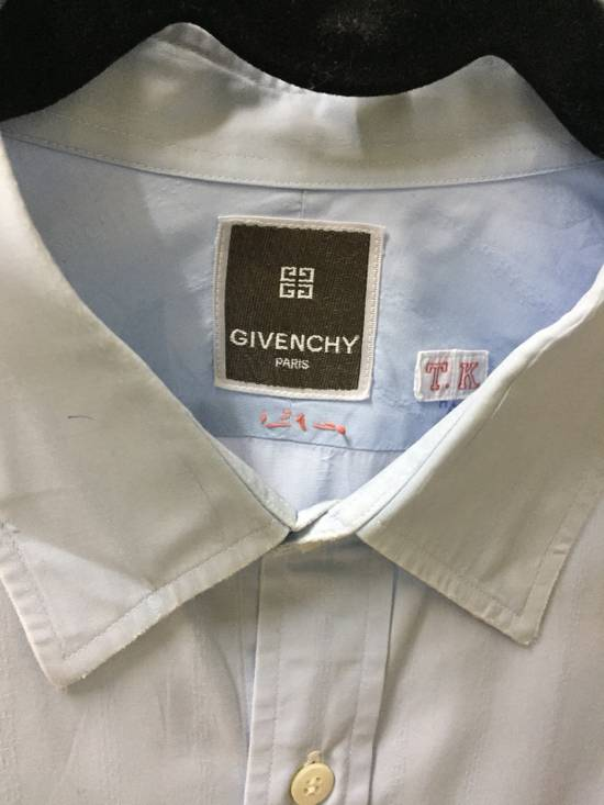 Givenchy Ocean Blue Givenchy Paris Shirt Button Size US M / EU 48-50 / 2 - 2