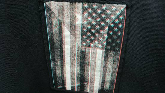 Givenchy $870 Givenchy America Flag Patch Rottweiler Shark Star Sweater size XS (relaxed fit) Size US XS / EU 42 / 0 - 7