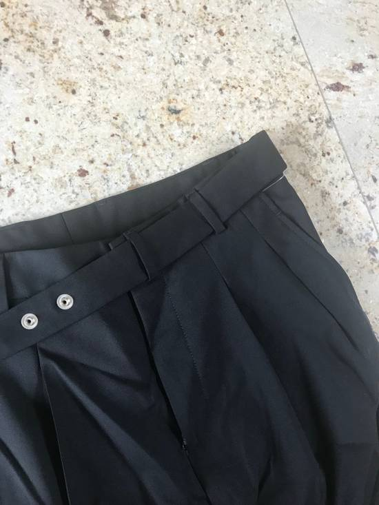 Givenchy Belted & Pleated Casual Suit Pants In Black Size US 28 / EU 44 - 5