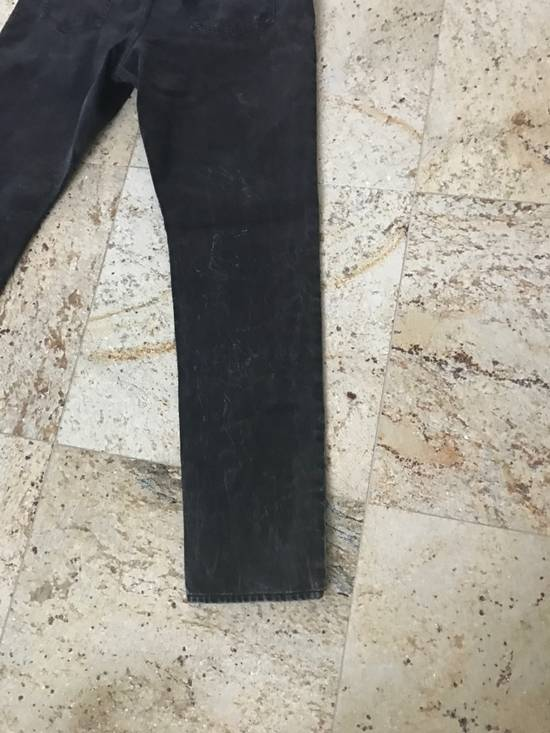Givenchy Black Aged Denim Size US 38 / EU 54 - 4